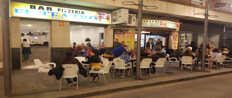 Pizzeria Torrevieja el Teatro nuestro local